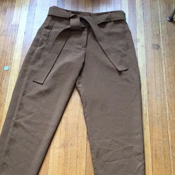 Wilfred Tie Front Pant Size 12 in Camel